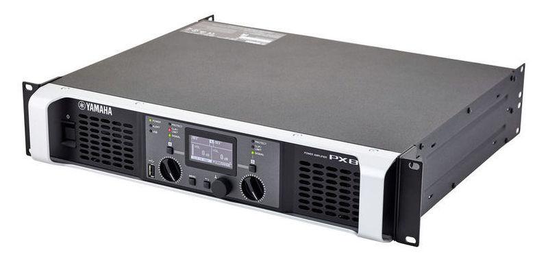 Усилитель мощности 850 - 2000 Вт (4 Ом) Yamaha PX8 усилитель yamaha p3500s