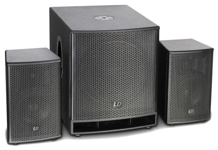 Комплект акустических систем LD Systems Dave 15 G3 стойка под акустику ld systems dave 8 set 2