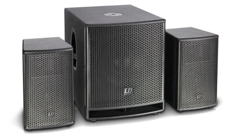 Комплект акустических систем LD Systems Dave 12 G3 стойка под акустику ld systems dave 8 set 2