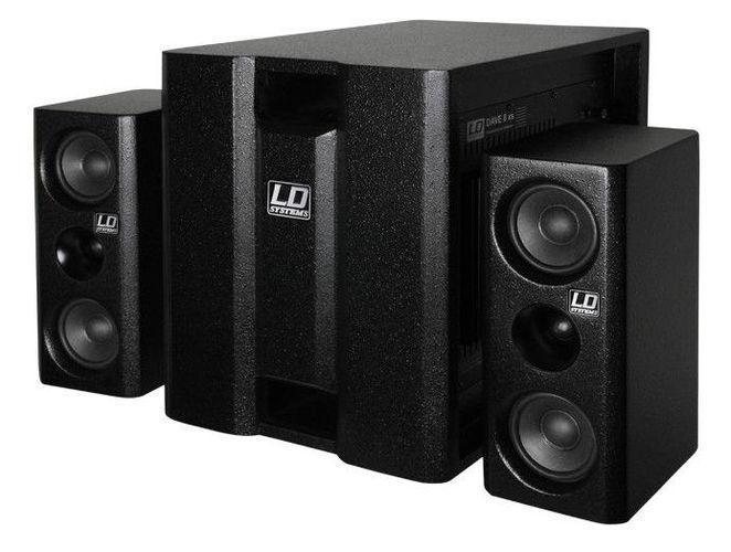 Комплект акустических систем LD Systems Dave 8 XS стойка под акустику ld systems dave 8 set 2