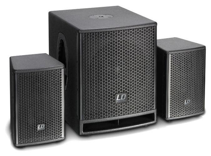 Комплект акустических систем LD Systems Dave 10 G3 стойка под акустику ld systems dave 8 set 2