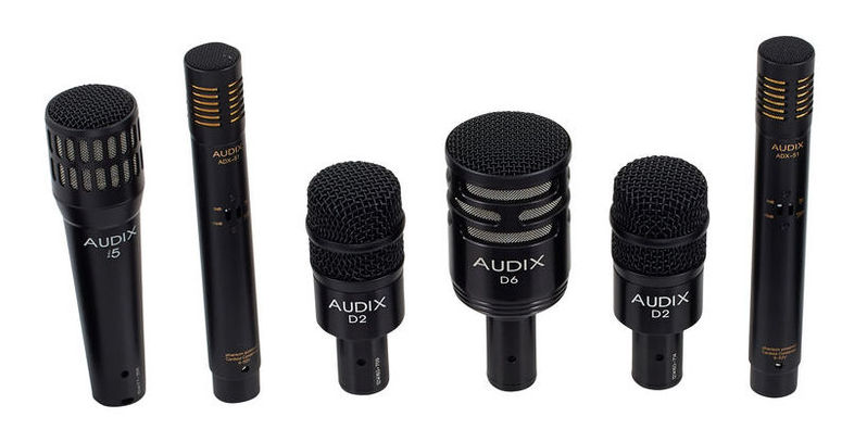 Микрофон для ударных инструментов AUDIX DP7 Drum Microphone Set audix i5