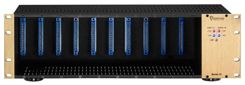 Рэковый шкаф и кейс Fredenstein Bento 10s connector hr34b 12wlpd 10s
