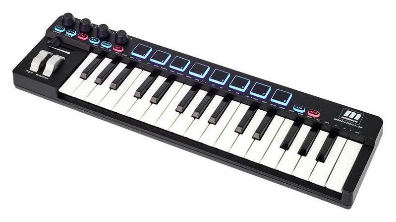 MIDI-клавиатура 32 клавиши Miditech Minicontrol-32