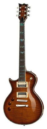 Гитара для левшей ESP LTD EC-1000 FM ASB Lefthand 5 струнная бас гитара esp ltd f 5e ns