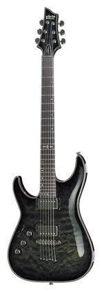 Гитара для левшей Schecter Hellraiser Hyb C-1 LH TBB стратокастер schecter hellraiser c 1 tpb fr