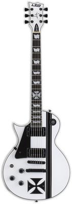 Гитара для левшей ESP LTD Iron Cross SW LH 5 струнная бас гитара esp ltd f 5e ns