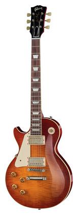 Гитара для левшей Gibson Les Paul 58 BOTB Cover LH HPT