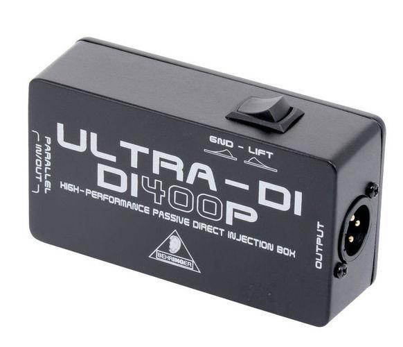 Ди-бокс Behringer ULTRA-DI DI400P behringer стейдж бокс s32