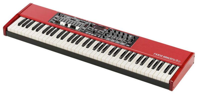 Сценическое фортепиано Clavia Nord Electro 5D 73 электроорган clavia nord c2d combo organ