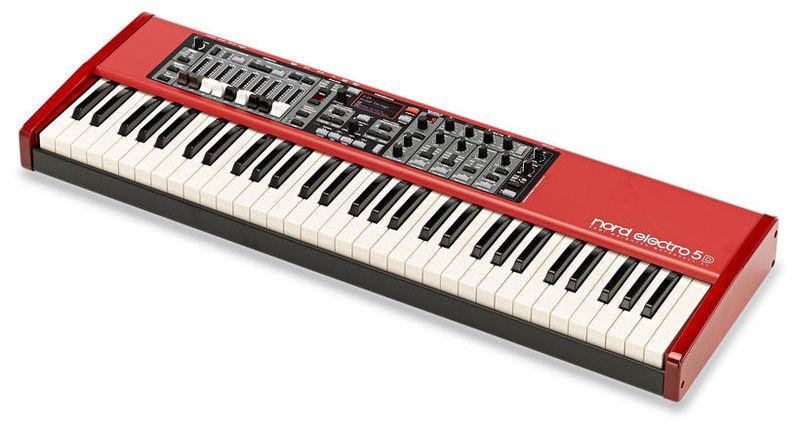 Сценическое фортепиано Clavia Nord Electro 5D 61 электроорган clavia nord c2d combo organ