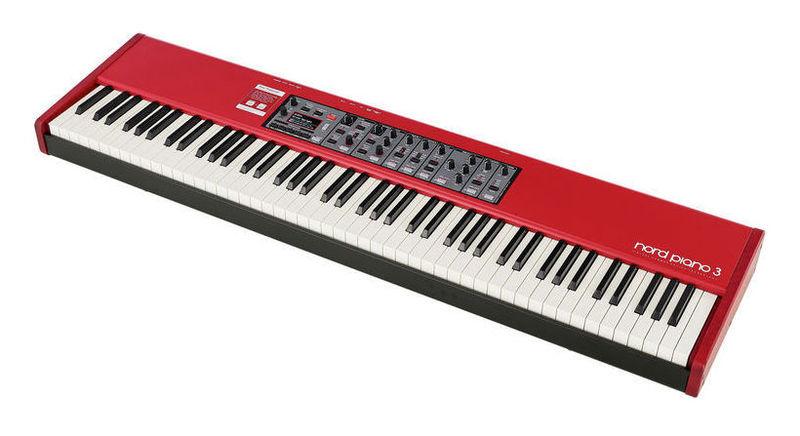 Сценическое фортепиано Clavia Nord Piano 3 электроорган clavia nord c2d combo organ
