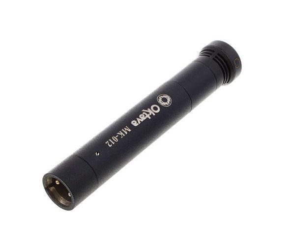 Универсальный инструментальный микрофон Октава МК-012-01 черный купить газовый счетчик октава g4