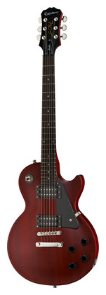 Электрогитара с одним вырезом Epiphone LP Studio Worn Cherry