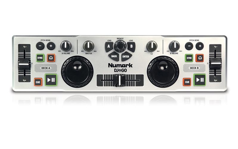 MIDI, Dj контроллер Numark DJ 2 GO