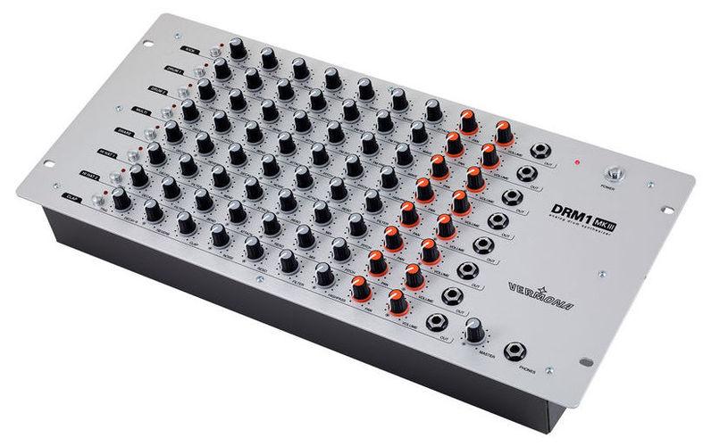 Звуковой модуль Vermona DRM 1 MKIII Trigger Black синтезатор и звуковой модуль yamaha reface cs