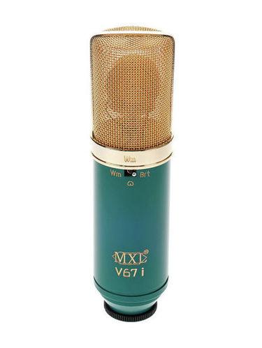 Микрофон с большой мембраной для студии MXL V67i