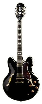 Полуакустическая гитара Epiphone Sheraton-II Pro BK epiphone sheraton ii vintage sunburst gold