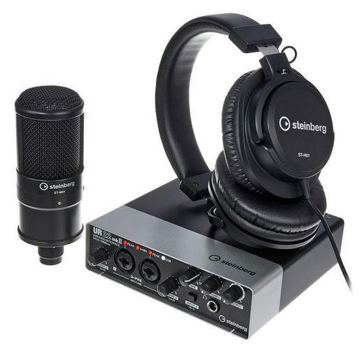 все цены на Звуковая карта внешняя Steinberg UR22 mkII Recording Pack онлайн