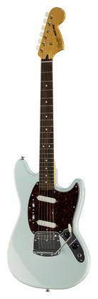 Электрогитара иных форм Fender SQ Vintage Mod Mustang SBL комбо для гитары fender mustang gt 200