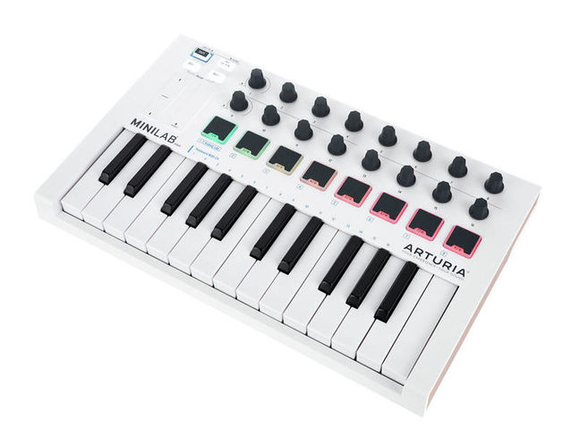 MIDI-клавиатура 25 клавиш Arturia MiniLab MKII midi клавиатура 32 клавиши arturia keystep