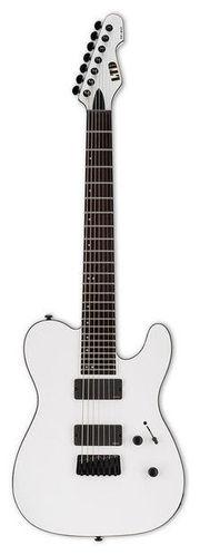 Электрогитара 7-струнная ESP LTD TE-417 SWS 5 струнная бас гитара esp ltd f 5e ns