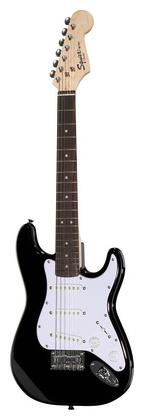 Электрогитара иных форм Fender Squier Mini Strat V2 BK fender squier bullet stratocaster rw bk в украине