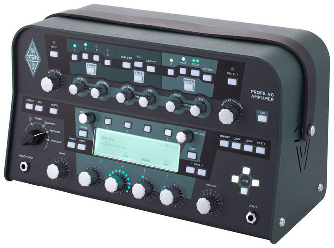 Гитарный усилитель Kemper Profiling Amplifier PowerHead impurity profiling of drugs and pharmaceuticals