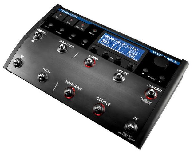 Вокальный процессор TC HELICON VOICELIVE 2 вокальный процессор tc helicon voicetone correct xt