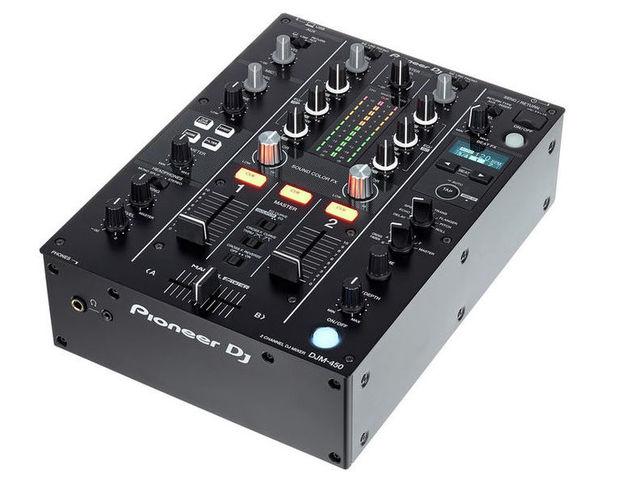 2-канальный микшер Pioneer DJM-450 микшерный пульт pioneer djm 450 djm 450