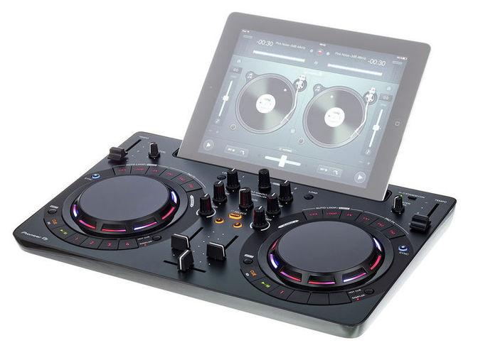 MIDI, Dj контроллер Pioneer DDJ-WeGO4 BK pioneer ddj wego4 w