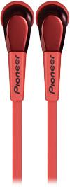 все цены на Вкладные наушники Pioneer SE-CL722T-R Red онлайн