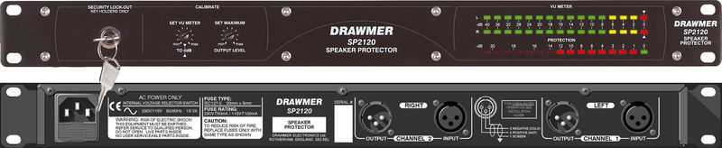 Компрессор, гейт, лимитер Drawmer SP2120 контроллер акустических систем dbx driverack pa 2