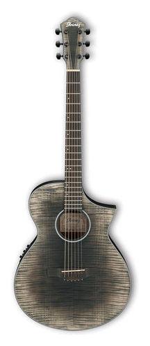 Гитара иной формы Ibanez AEWC32FM-GBK
