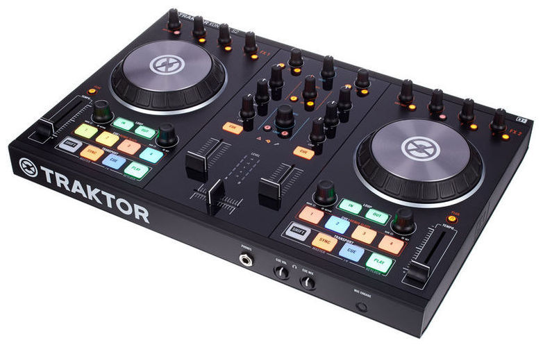 MIDI, Dj контроллер Native Instruments TRAKTOR KONTROL S2 MK2 midi контроллер alesis sample pad