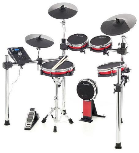 Электронная ударная установка Alesis Crimson Mesh Kit alesis forge kit