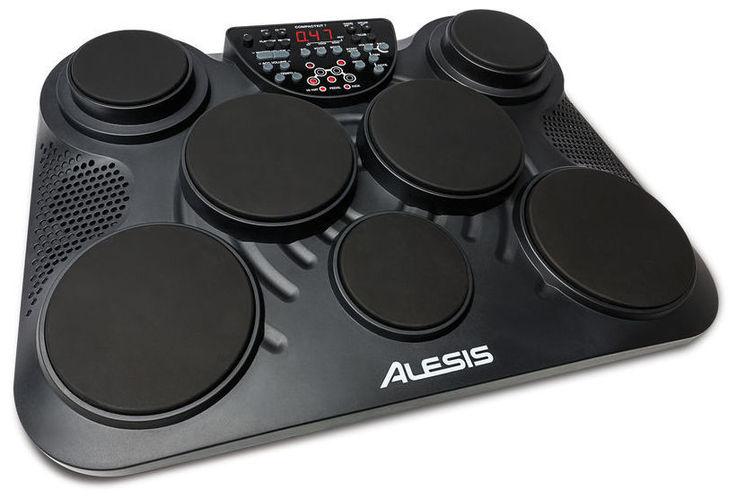 Электронная ударная установка Alesis CompactKit 7 электронная ударная установка alesis dm lite kit