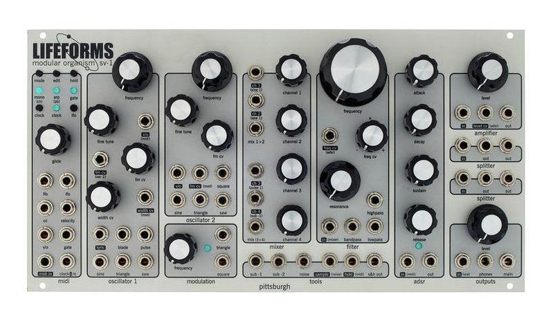 цена на Модульный синтезатор Pittsburgh Modular Lifeforms SV-1
