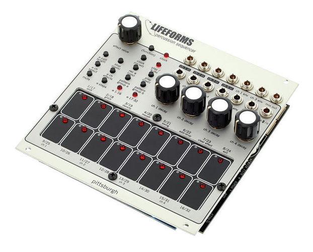 цена на Модульный синтезатор Pittsburgh Modular Lifeforms Percussion Sequencer