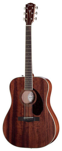 Дредноут Fender PM-1 STD Dreadnought Mah дредноут fender cd 60s all mah