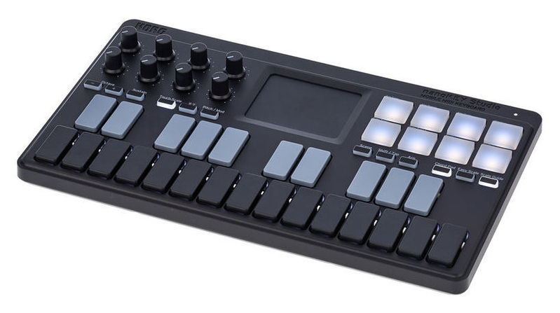 MIDI, Dj контроллер Korg nanoKEY Studio midi контроллер korg nanokontrol2 wh