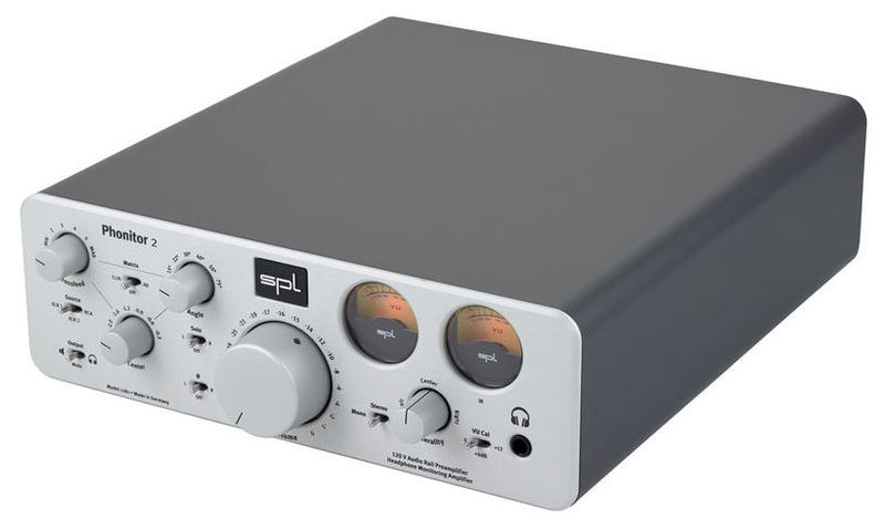 Усилитель для наушников SPL Phonitor 2 Silver усилители для наушников nuforce icon udac 2 silver