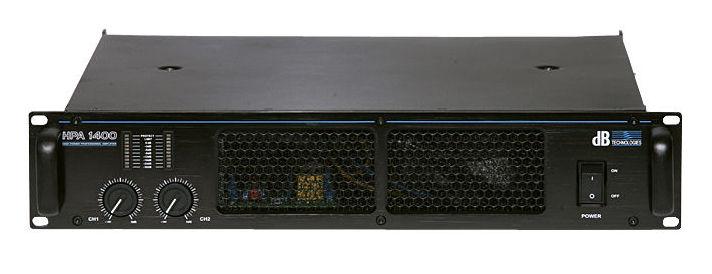 все цены на  Усилитель мощности до 800 Вт (4 Ом) dB Technologies HPA 1400  онлайн