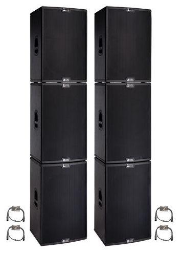 Комплект акустических систем dB Technologies Sigma System 7.6 комплект акустических систем fbt vertus cs 1000