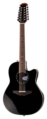 Электроакустическая гитара Ovation 2751AX-5 Standard Balladeer BK