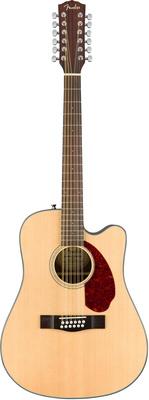 12-струнная гитара Fender CD-140SCE-12 Nat дредноут fender sonoran sce lpb