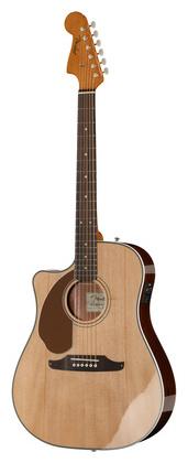 Гитара для левшей Fender Sonoran SCE NA LH дредноут fender sonoran sce lpb