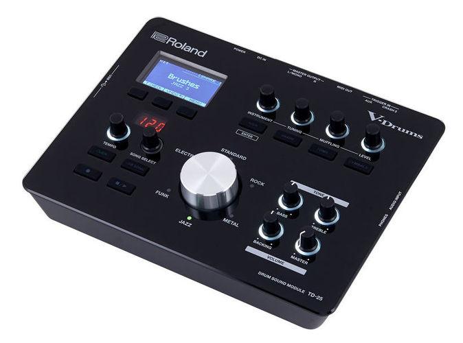 Звуковой модуль для установок Roland TD-25 E-Drum Module хай хэт и контроллер для электронной ударной установки roland fd 9 hi hat controller pedal
