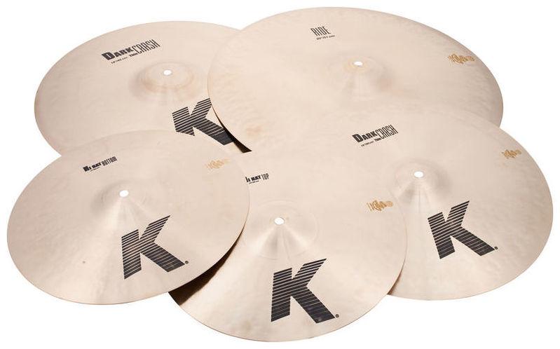 Набор барабанных тарелок Zildjian K-Series Profi Promo Pack хай хэт и контроллер для электронной ударной установки zildjian gen16 buffed bronze 14 hi hat