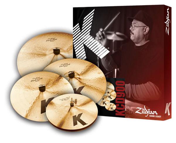 Набор барабанных тарелок Zildjian K-Custom Darkbox Set хай хэт и контроллер для электронной ударной установки zildjian gen16 buffed bronze 14 hi hat